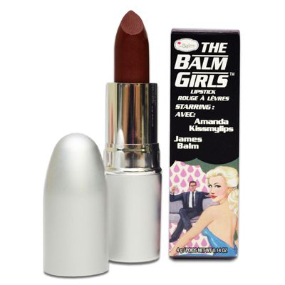 Batom The Balm Girls  Amanda Kiss 4g Amanda Kiss_