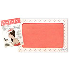 Blush Instain Swiss Dot