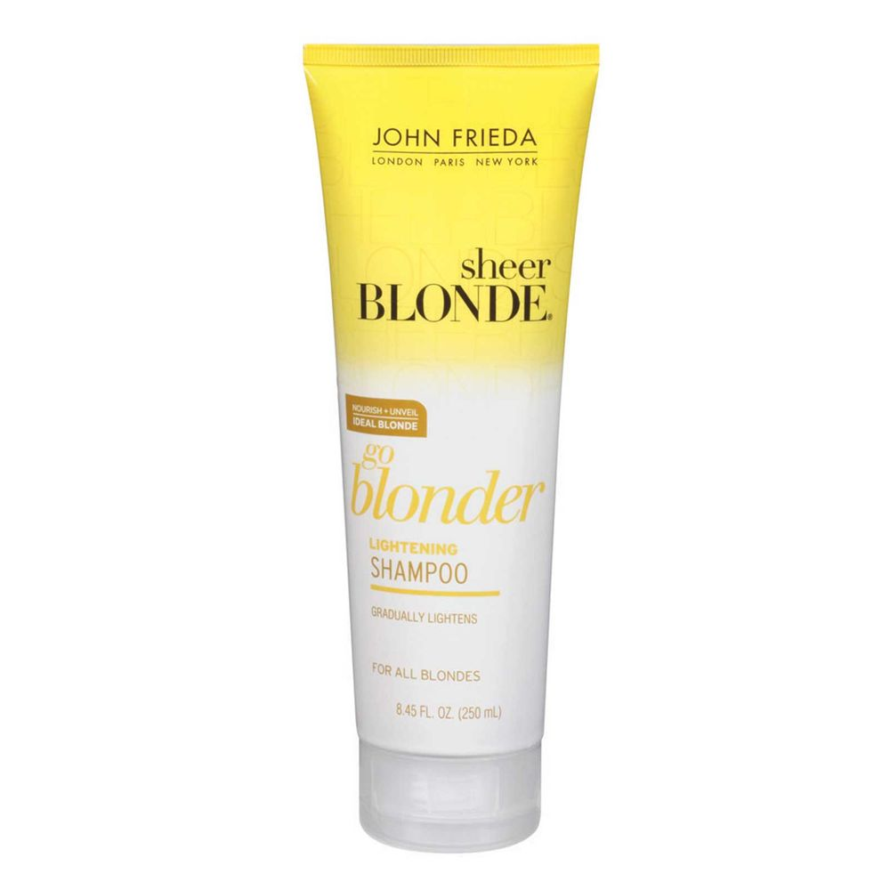 shampoo john frieda sheer blonde go blonder the beauty box. Black Bedroom Furniture Sets. Home Design Ideas
