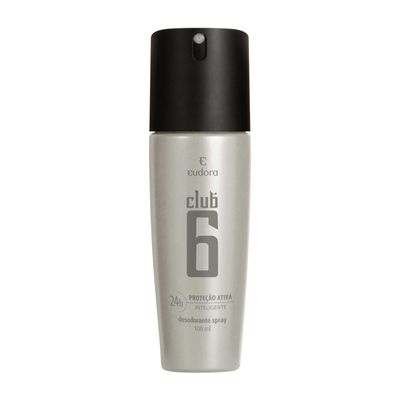 Club 6 Desodorante Spray Masculino  100ml 100ML_