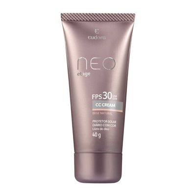 CC Cream Neo Etage FPS 30 Bege Natural 40g BEGE NATURAL_