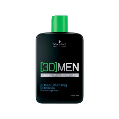 Shampoo 3D Men Anti-Oleosidade 250ml_