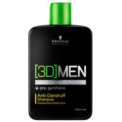 Shampoo 3d men anti-caspa_