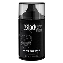 Body Spray Black XS L'exces Masculino 250ml_