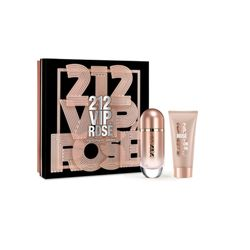 Kit Perfume 212 Vip Rosé Feminino 80ml e Body..._