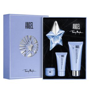 Coffret Angel Feminino Eau de Parfum 25ml + Body Lotion 100ml + Shower Gel 30ml