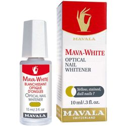 Clareador de Unhas Mava-White 10ml Incolor_