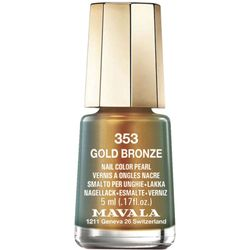 Esmalte mini colors metropolitan collection Gold Bronze_
