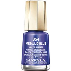 Esmalte mini colors metropolitan collection Metallic Blue_
