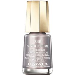 Esmalte mini colors metropolitan collection Silver Chrome 349_