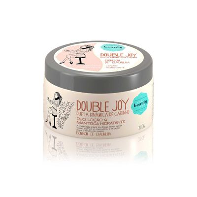 Duo Loção e Manteiga Double Joy Bombom... 180ml_