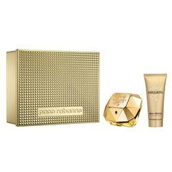 Kit Lady Million Feminino Eau de Parfum 80ml + ..._14551