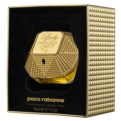 Perfume Lady Million Paco Rabanne... 80 ml_