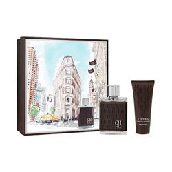 Kit-CH-Men-Eau-de-Toilette-100ml---Pos-Barba-100ml