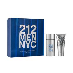 Kit Perfume 212 Men NYC Eau de Toilette... ÚNICO_
