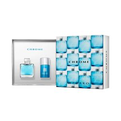 Kit Perfume Chrome Masculino Eau de Toilette..._