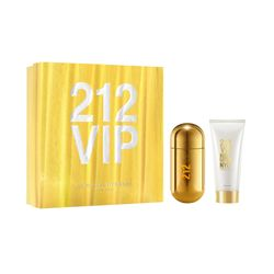 Kit Perfume 212 VIP Feminino Eau de Parfum 80ml + Body Lotion 100ml_16991
