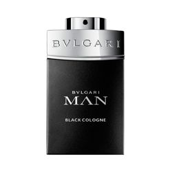 Perfume man in black cologne eau de toilette_