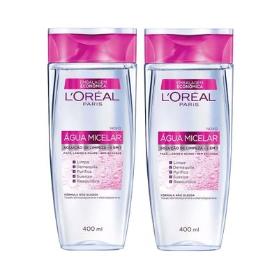 Kit Água Micelar L'Oréal Paris 400ml_