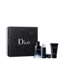 Kit-Perfume-Sauvage-Eau-de-Toilette-100ml---Travel-Size-10ml---After-Shave-Balm-50ml