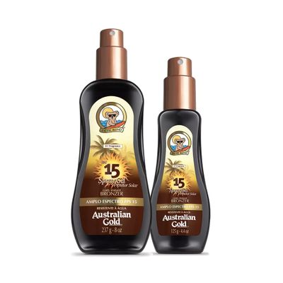 Kit Australian Gold Protetor Solar Spray Gel..._