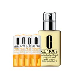 Kit-Facial-Clinique-Fresh-Pressed-Vitamina-C---Gel-Hidratante-Dramatically-Different-Moisturizing-125ml