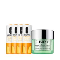 Kit-Facial-Clinique-Fresh-Pressed-Vitamina-C---Hidratante-Superdefense-Moisturizer