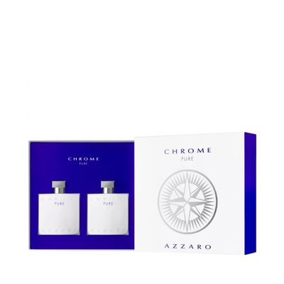 Kit Perfume Chrome Pure Eau de Toilette... 100ML_