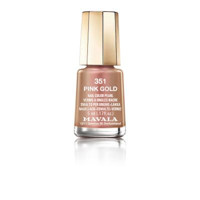 Esmalte Mini Colors Metropolitan... Pink Gold_