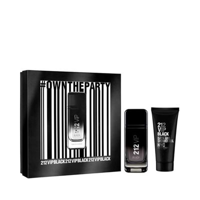 Kit Perfume 212 VIP Black Masculino Eau... 100ML_