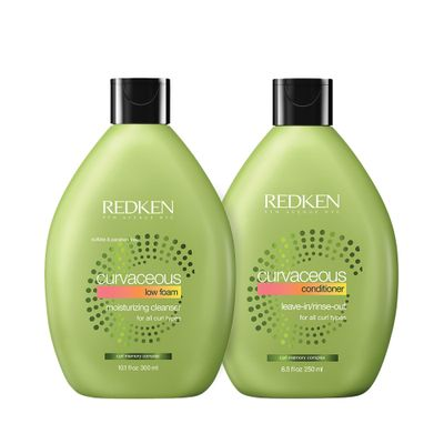 Kit Shampoo Low Foam Curvaceous 300ml +..._