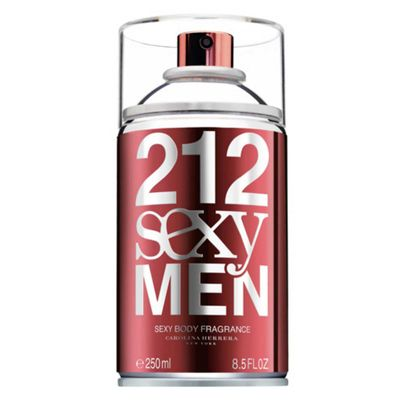 212 Sexy Masculino Body Spray 250ml_