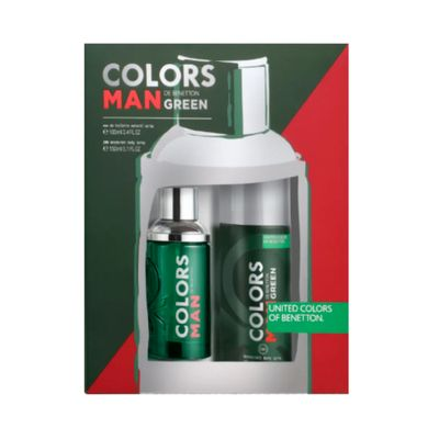 Kit Perfume Colors Green Masculino Eau... 90ml_