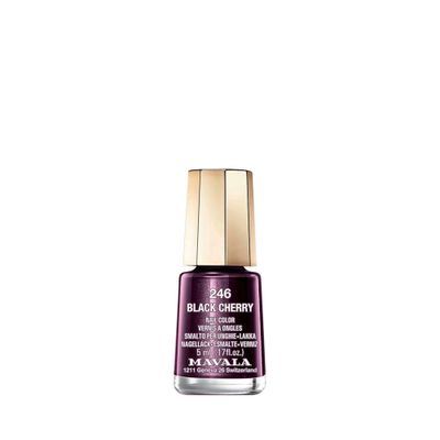 Esmalte Mavala Mini Color Black Cherry 5ml_