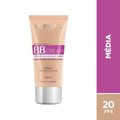 BB Cream Dermo Expertise FPS 20 Média 30ml_