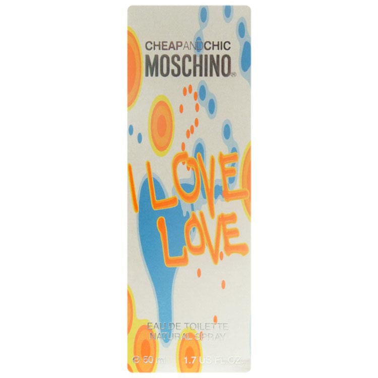 Perfume Cheap & Chic I Love Love Moschino Eau de Toilette 50ml