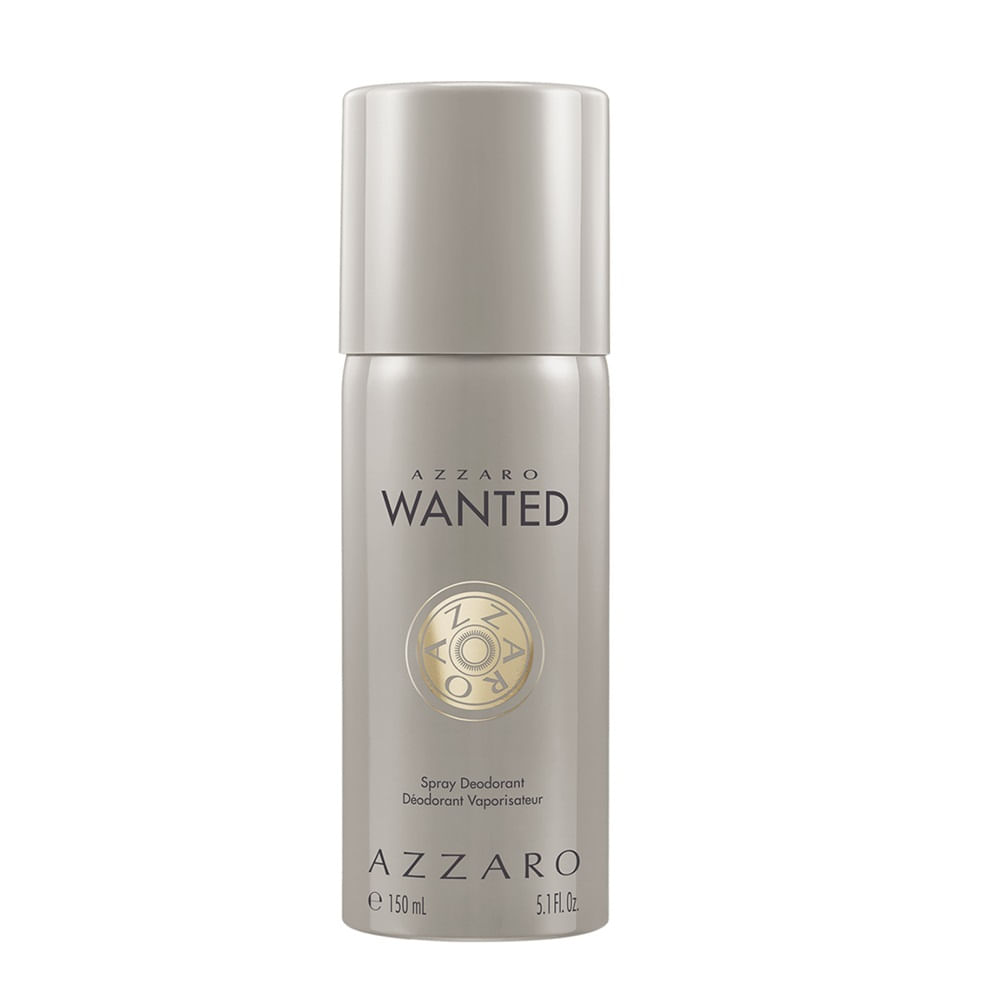 Desodorante Azzaro Wanted Masculino 150ml