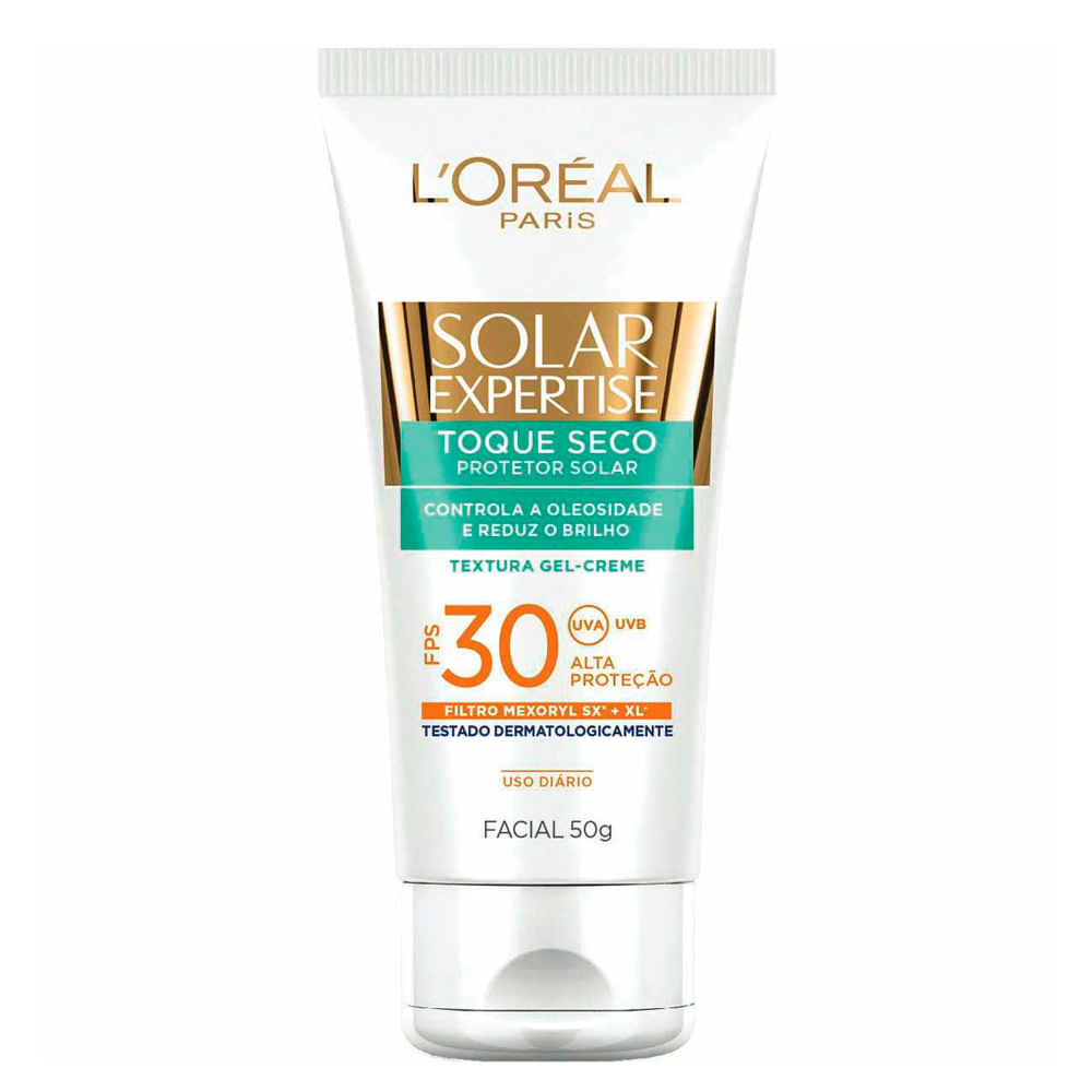 Protetor Facial Solar Expertise Toque Seco FPS30 50ml