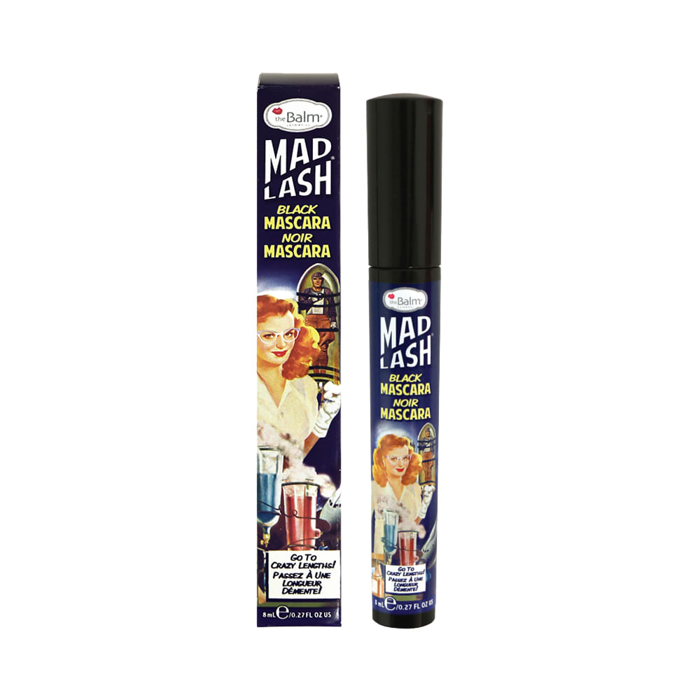 Máscara para Cílios Mad Lash Black 8ml