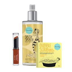 Kit Delicado - Body Splash, Sabonete e Batom_