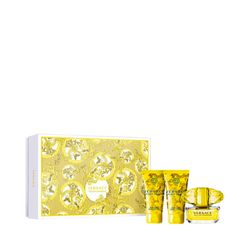 Kit-Perfume-Versace-Yellow-Diamond-Eau-de-Toilette-50ml---Locao-Corporal-50ml---Gel-de-Banho-50ml