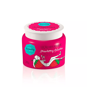 creme-locao-hidratante-strawberry-gelatto-the-beauty-box