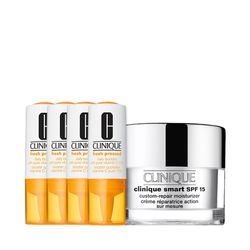 Kit-Facial-Clinique-Fresh-Pressed-Vitamina-C---Hidratante-para-pele-oleosa-Smart-Custom-Repair