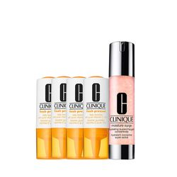 Kit-Facial-Clinique-Fresh-Pressed-Vitamina-C---Hidratante-Moisture-Surge-Supercharged