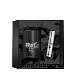 Kit-Perfume-Black-XS-Eau-de-Toilette-50ml---Travel-Spray-10ml