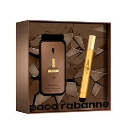 Kit-One-Million-Prive-Eau-de-Parfum-50ml---Travel-Spray-10ml