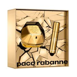 Kit-Perfume-Lady-Million-Feminino-Eau-de-Parfum-50ml---Miniatura-10ml