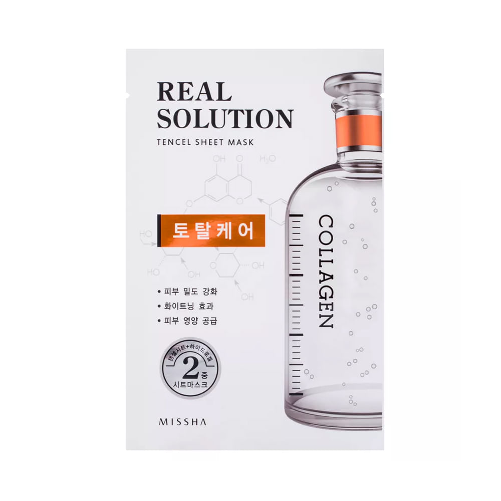 Máscara Facial Anti-Rugas Real Solution Total Care 25g