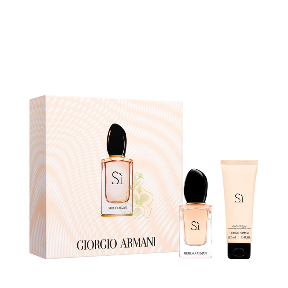 Kit Perfume Si Feminino Eau de Parfum 30ml + Body Lotion 75ml Único