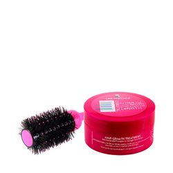 Kit-Mascara-Hair-Growth-Treatment-200ml---Escova-Modeladora-My-Big-Fat-Silky-Smoother-